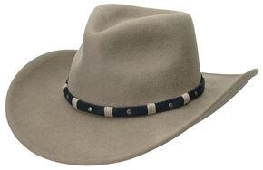 Black Creek Men's Putty Crushable Wool Hat, Putty, hi-res