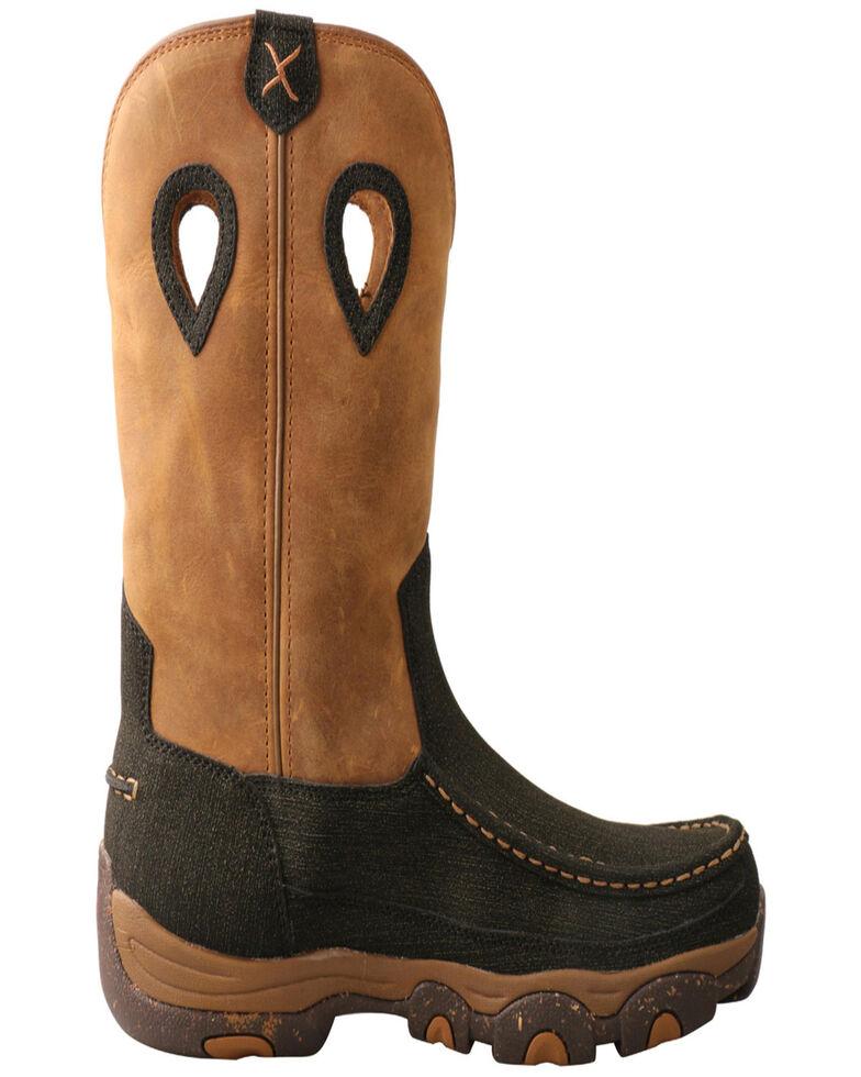 Twisted X Men's Wellington Hiking Boots - Moc Toe, Brown, hi-res