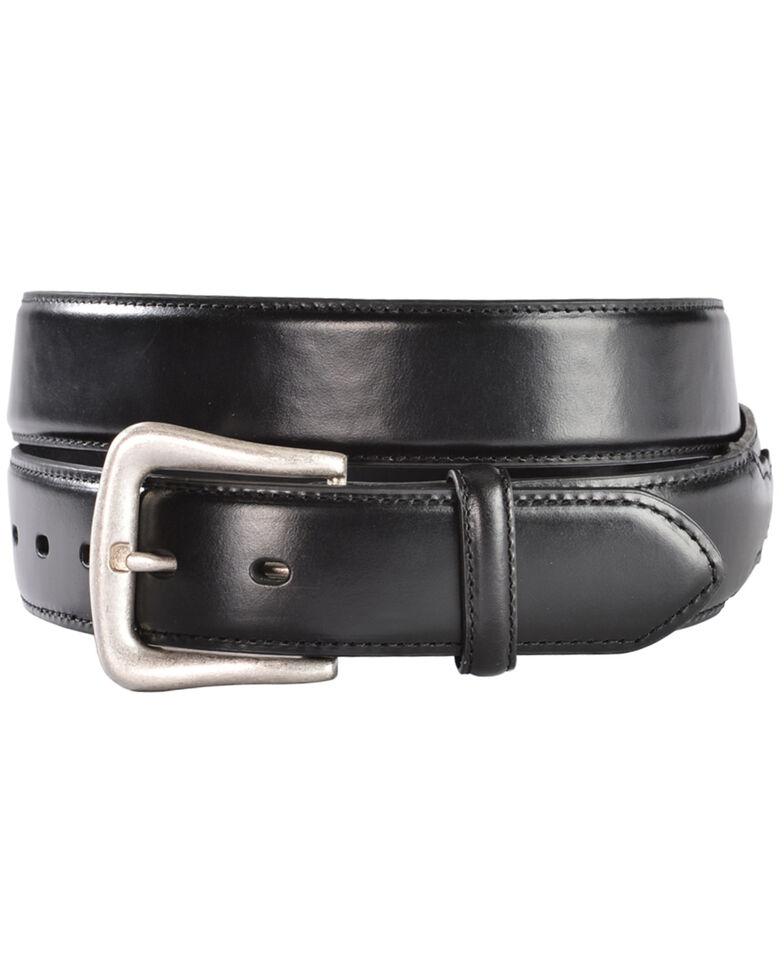 Nocona Black Western Overlay Belt - Large, Black, hi-res