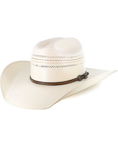 Larry Mahan Men's 10X Straw Hat, Natural, hi-res