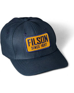 Filson Men's Logger Cap, Navy, hi-res