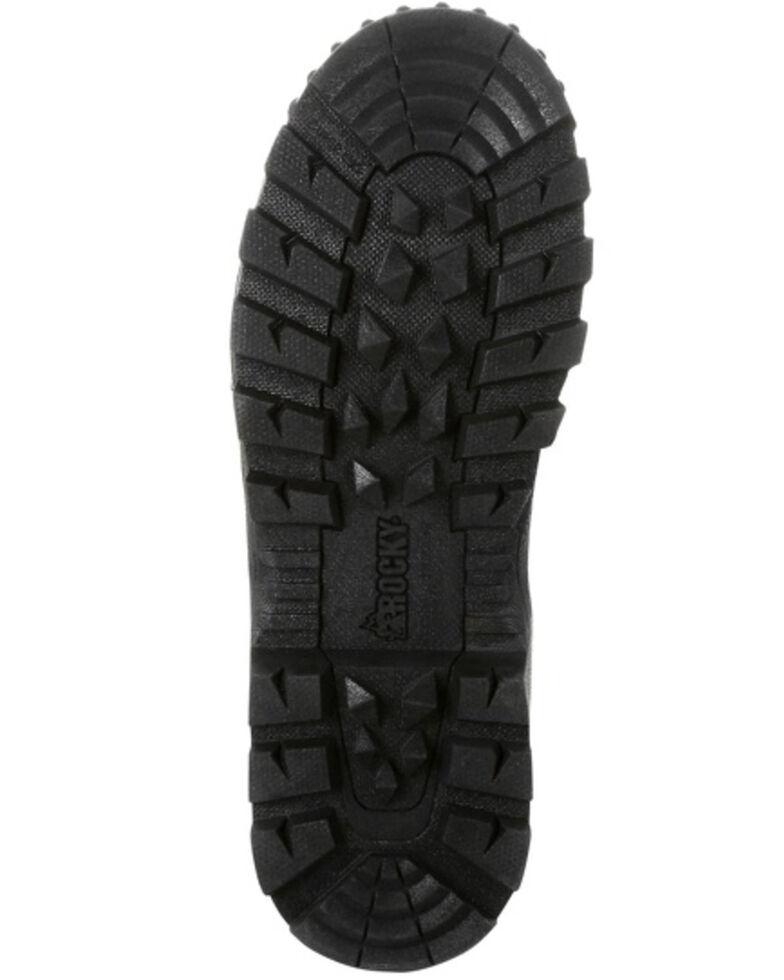 Rocky Men's Camo Rubber Snake Boots - Round Toe, Bark, hi-res