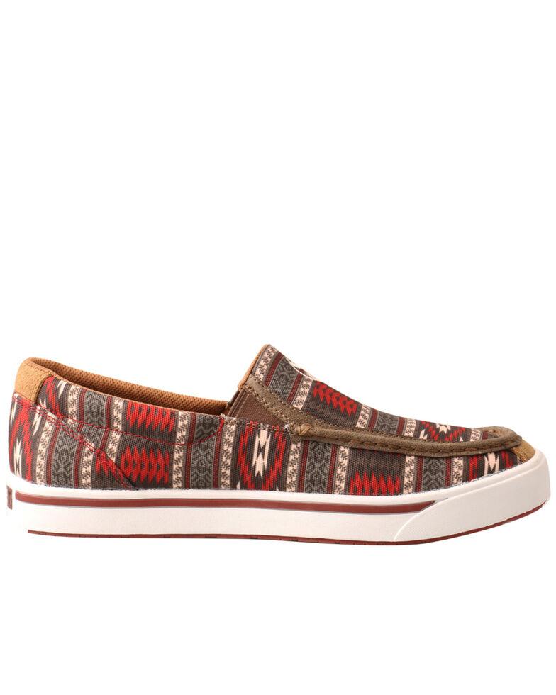 Twisted X Men's Aztec Pattern Boots - Moc Toe, Multi, hi-res