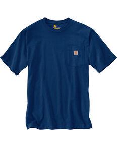 Carhartt Men's Workwear Pocket T-Shirt, Dark Blue, hi-res