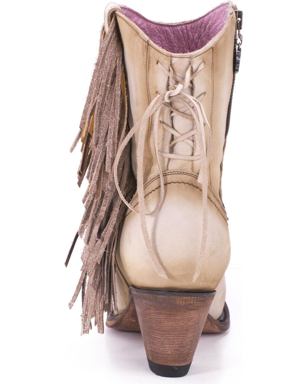 Junk Gypsy by Lane Cream Spirit Animal Boots - Snip Toe , Cream, hi-res