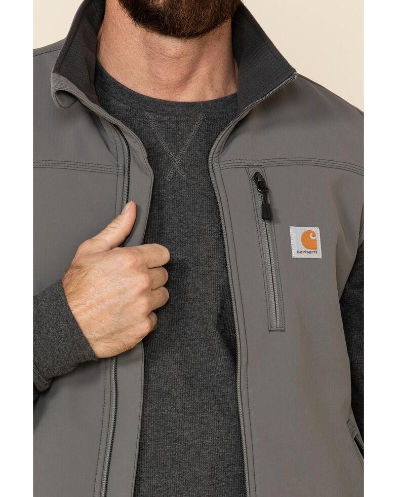 Carhartt Men's Denwood Work Vest - Big & Tall, Charcoal, hi-res