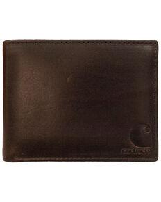 Carhartt Men's Oil Tan Passcase Wallet, Brown, hi-res
