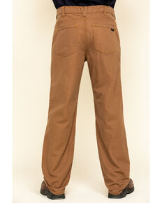 Hawx® Men's Brown FR Denim Straight Work Jeans , Brown, hi-res
