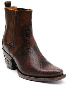 Idyllwind Women's Moxie Brown Fashion Booties - Snip Toe, Brown, hi-res