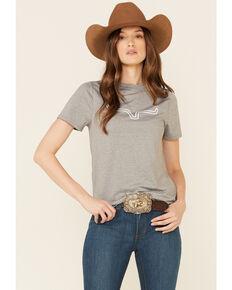 Kimes Ranch Women's Outlier Tech Short Sleeve Tee, Grey, hi-res