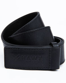 Hawx Men's Black Mechanics Leather Work Belt , Black, hi-res
