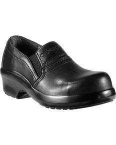 Ariat Expert Safety Clog Slip-On Shoes - Composite Toe, Black, hi-res
