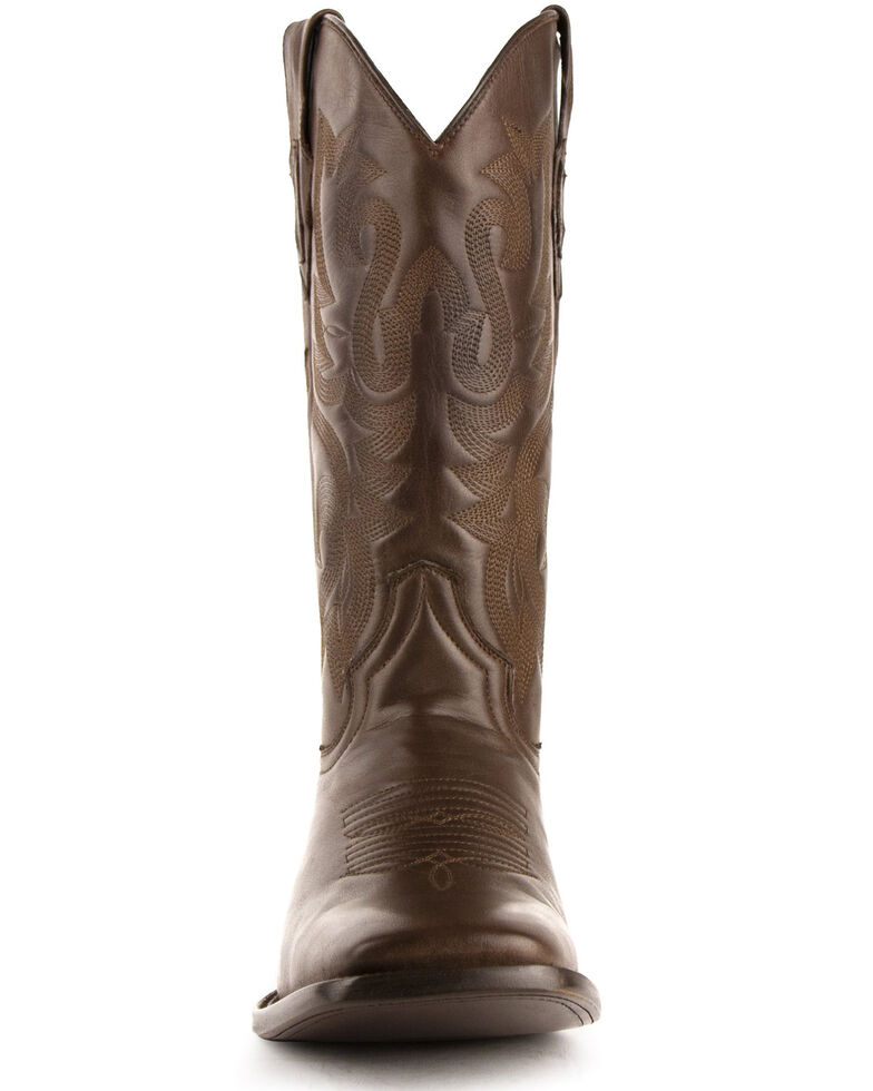 Ferrini Men's Jackson Western Boots - Square Toe, Chocolate, hi-res