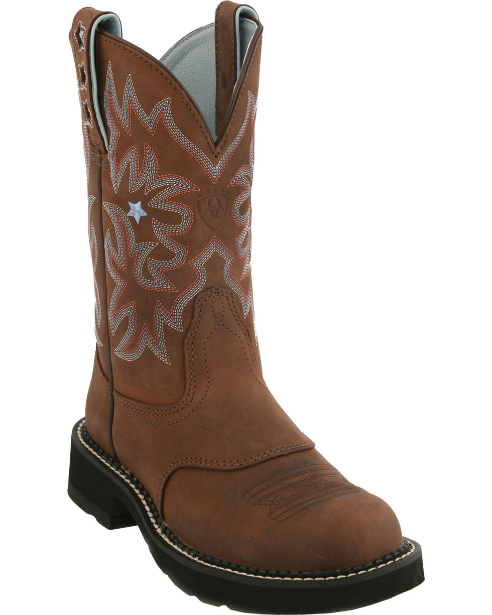 Ariat Driftwood ProBaby Boots, Brown, hi-res