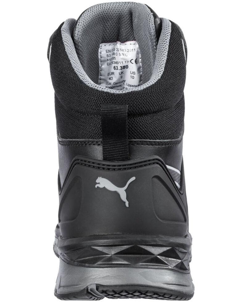 Puma Men's Mid Velocity Work Shoes - Composite Toe, Black, hi-res