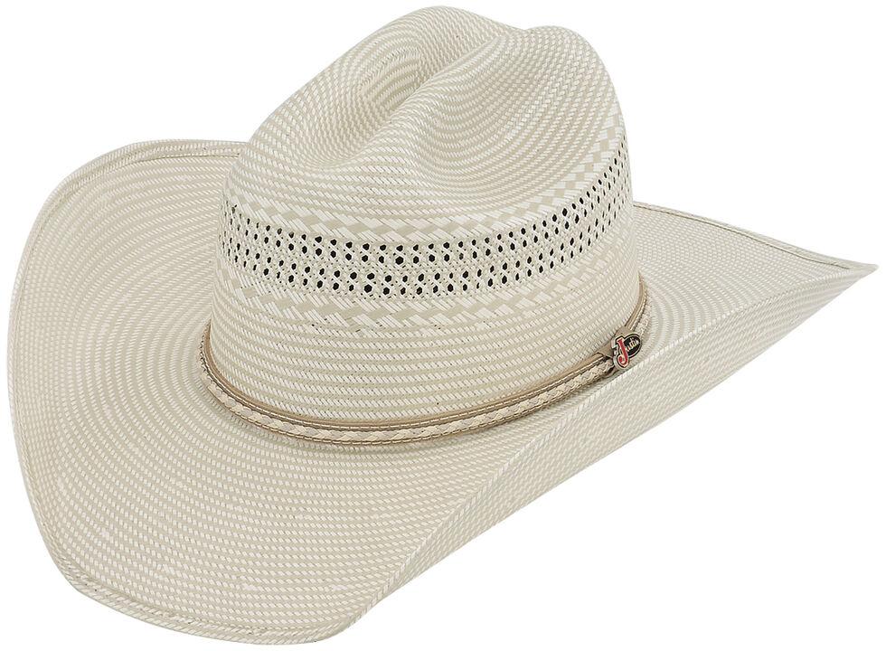 Justin 50X Sunderland Straw Cowboy Hat, Natural, hi-res
