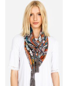 Johnny Was Women's Charlotte Scarf, Multi, hi-res