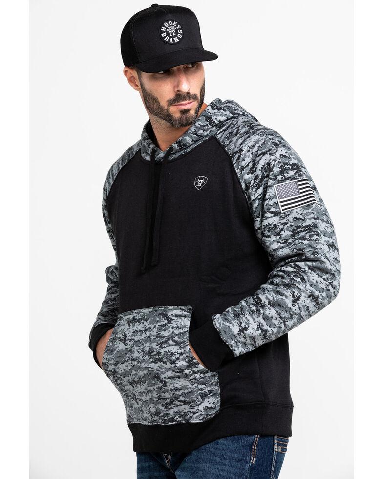 eace76f4242 Ariat Men's Black Patriot Hoodie