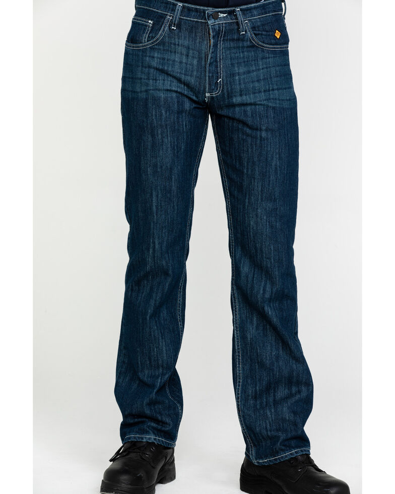 Wrangler 20X Men's FR Vintage Bootcut Jeans, Indigo, hi-res