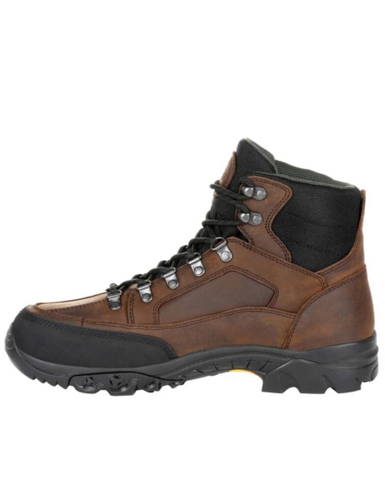 Rocky Men's Deerstalker Sport Waterproof Outdoor Boots - Soft Toe, Brown, hi-res