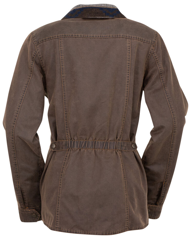 Outback Trading Co. Women's Broken Hill Jacket, Brown, hi-res