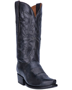 El Dorado Men's Stitched Western Boots - Snip Toe , Steel, hi-res