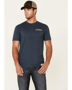 Pendleton Men's Navy Siskiyou Aztec Bison Graphic Short Sleeve T-Shirt , Navy, hi-res