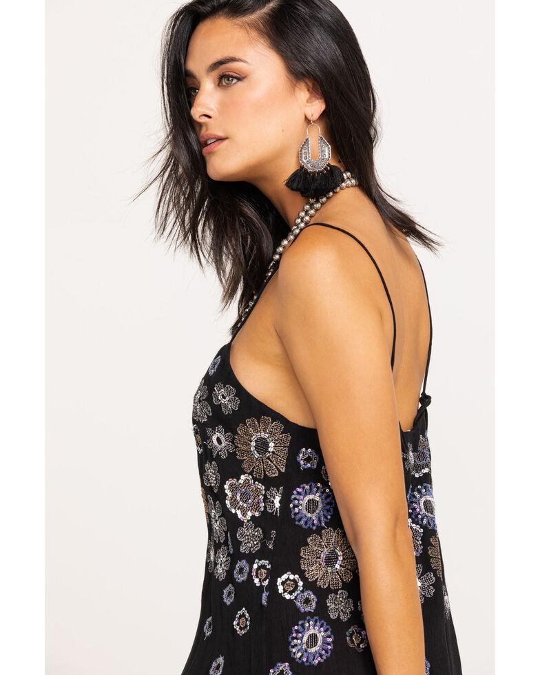Free People Women's Azealia Embellished Slip Dress, Black, hi-res