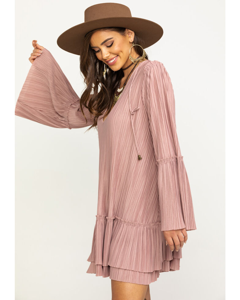 Free People Women's Can't Help It Mini Dress, Pink, hi-res