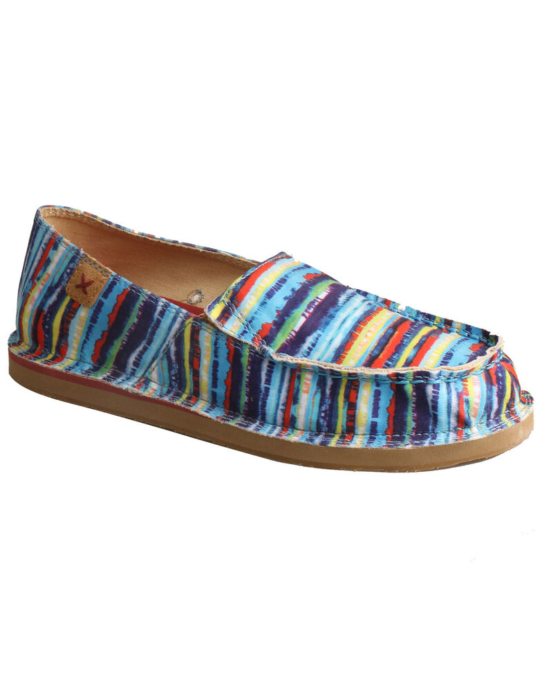 Twisted X Women's Casual Loafers - Moc Toe, Multi, hi-res