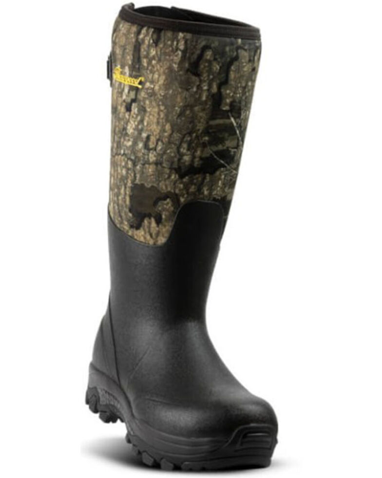 Thorogood Men's Infinity FD RealTree Camo Rubber Boots - Soft Toe, Camouflage, hi-res