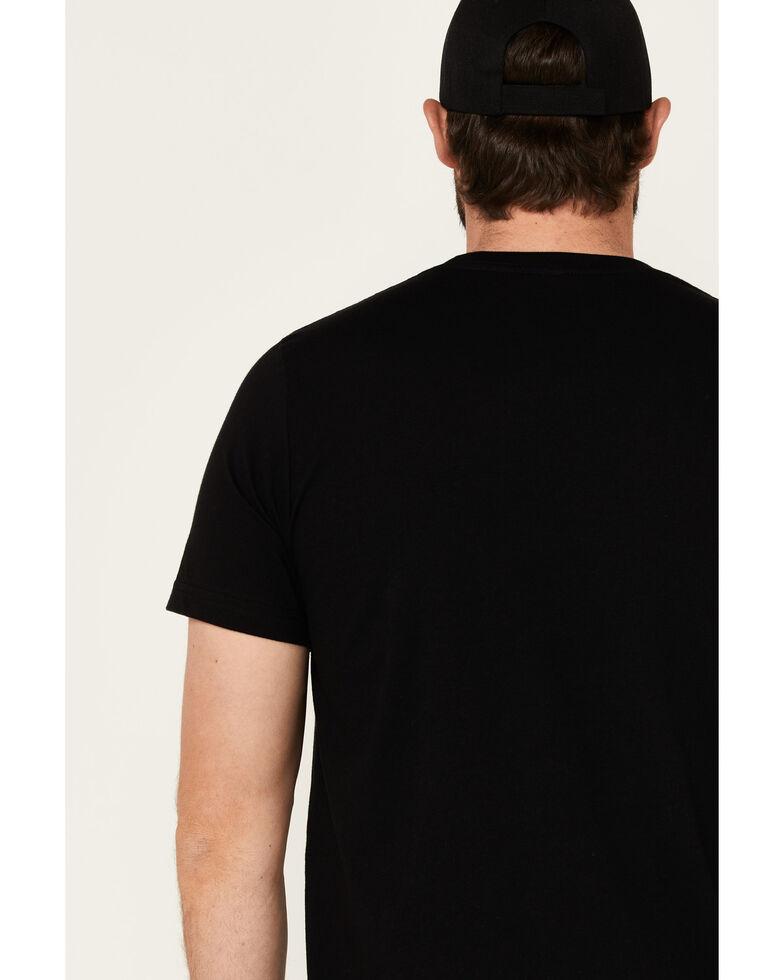 Tin Haul Men's Co. In Circle Vintage Logo Short Sleeve T-Shirt , Black, hi-res