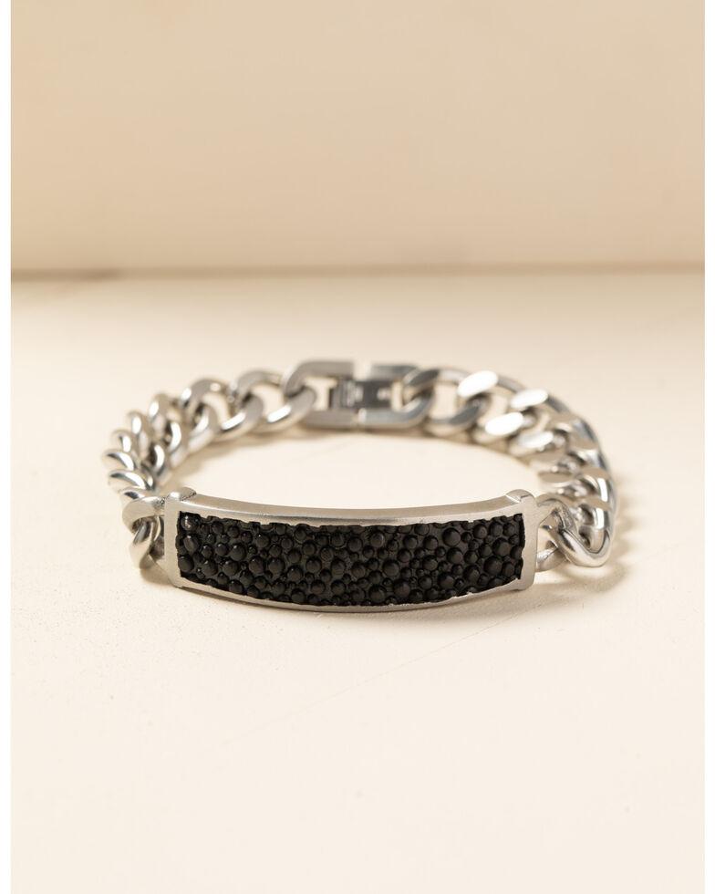 Moonshine Spirit Men's Sting Ray Link Bracelet, Silver, hi-res