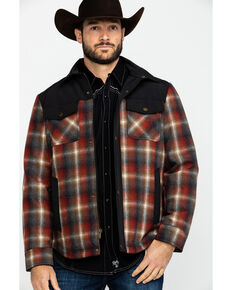 Pendleton Men's Rust Copper Plaid Shirt Jacket , Rust Copper, hi-res