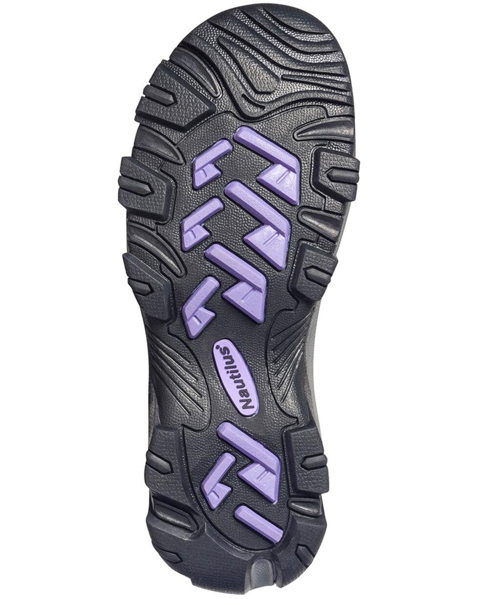 Nautilus Women's Lightweight Athletic Work Shoes - Composite Toe, Black, hi-res