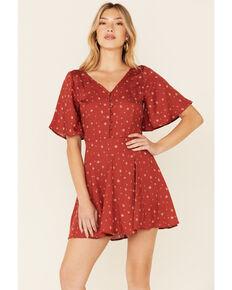 Idyllwind Women's Chili Bandana Rock Dress  , Chilli, hi-res