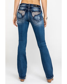 f582819ea07 Miss Me Women's Medium Braided Wing Jeans