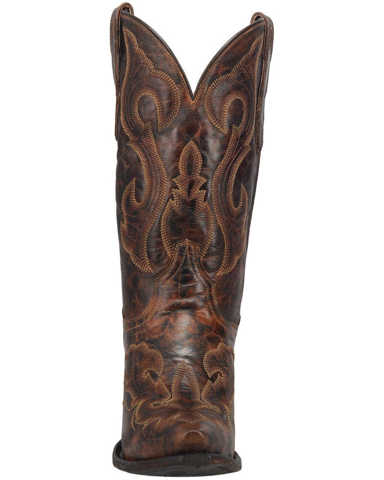Dan Post Women's Marcella Western Boots - Snip Toe, Brown, hi-res