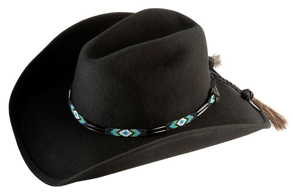 Bullhide Secret Message Wool Hat, Black, hi-res