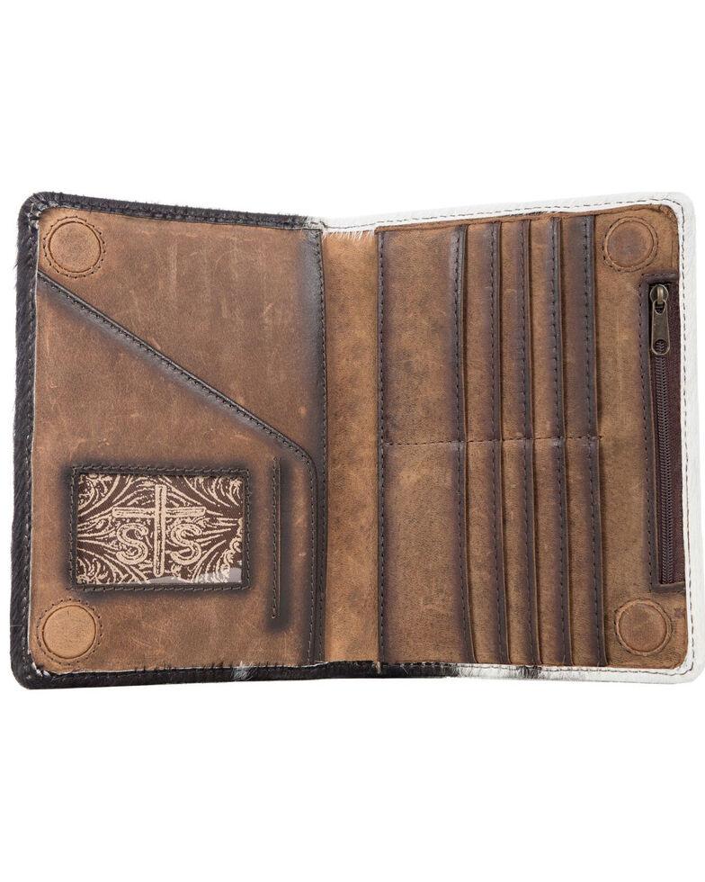 STS Ranchwear Women's Cowhide Magnetic Wallet, No Color, hi-res