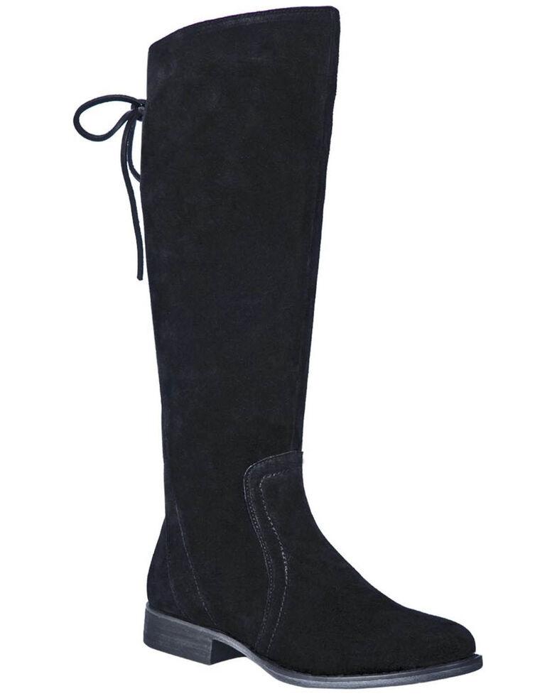Dingo Women's Alameda Over The Knee Western Boots - Round Toe, Black, hi-res