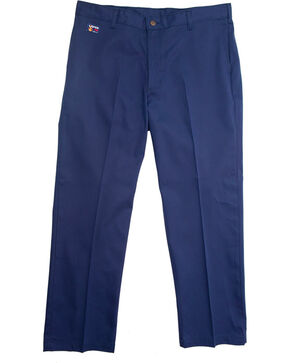 Lapco FR Men's Navy Uniform Pants - Straight Leg , Indigo, hi-res