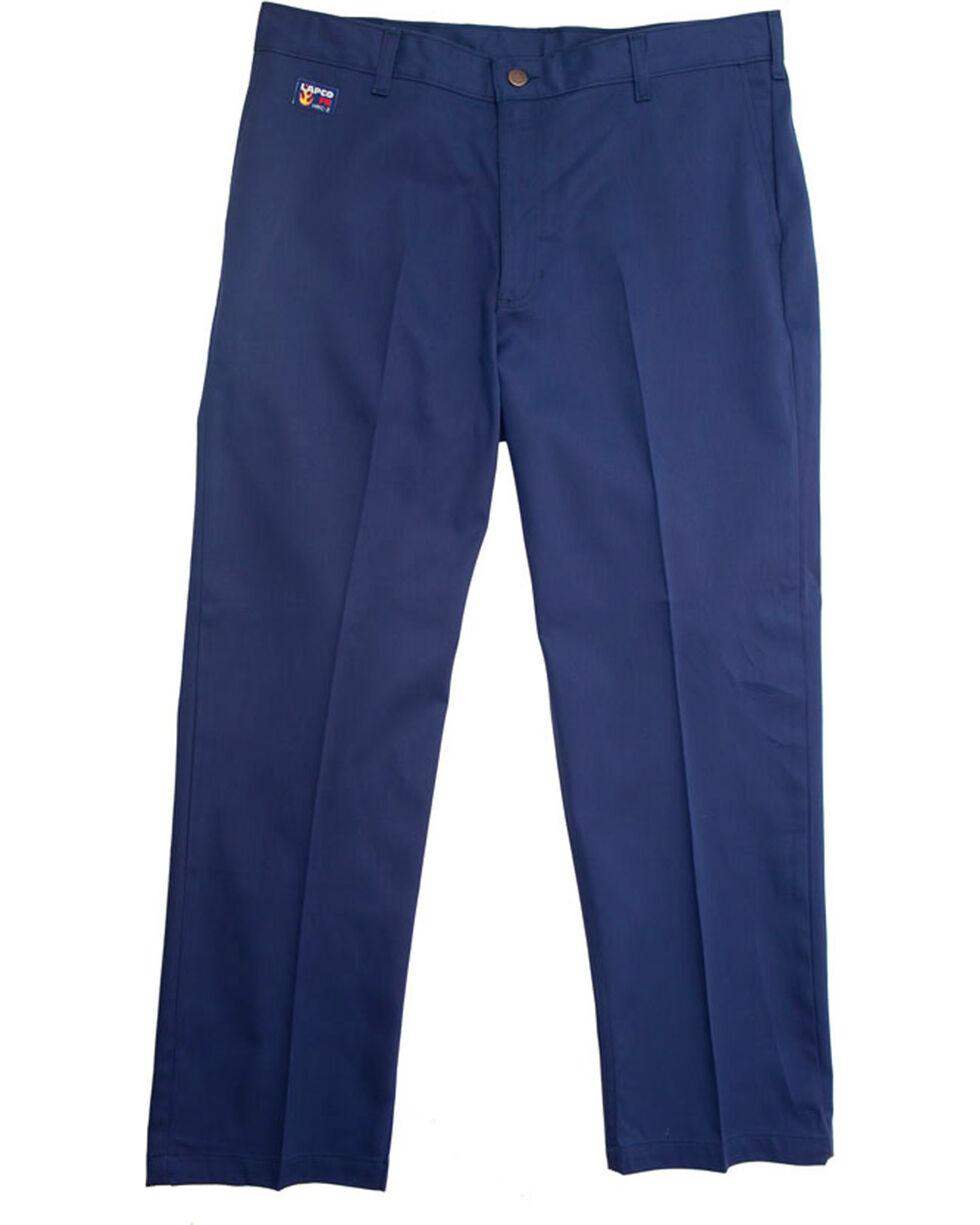 Lapco FR Men's Navy Uniform Pants - Straight Leg , Indigo, hi-res