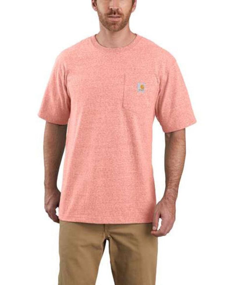 Carhartt Men's Orange Workwear Pocket Work T-Shirt , Orange, hi-res