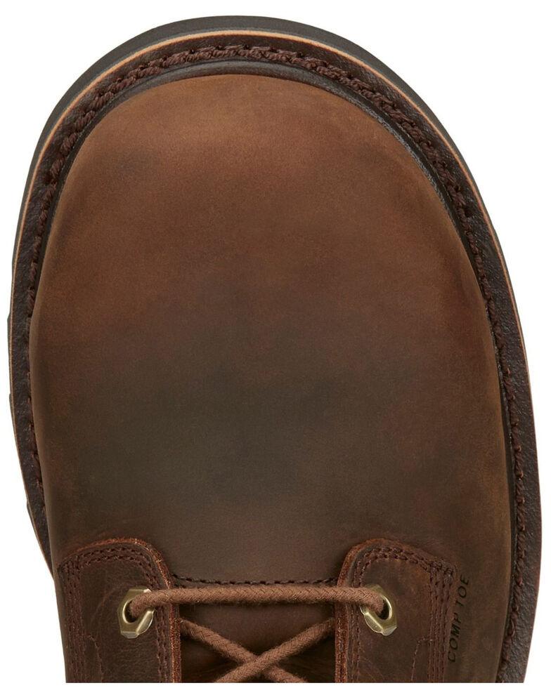 Chippewa Men's Sador Work Boots - Composite Toe, Brown, hi-res