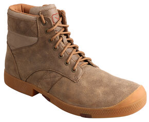 Twisted X Men's Casual Lace-Up Boots - Round Toe , Bomber, hi-res