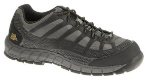 Caterpillar Streamline Work Shoes - Composite Toe, Charcoal Grey, hi-res