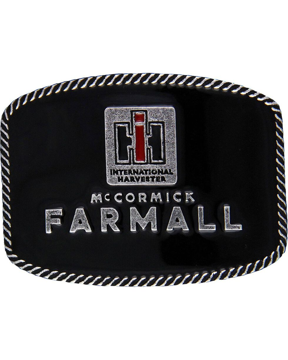 Montana Silversmiths Case IH McCormick Farmall Attitude Belt Buckle, Silver, hi-res