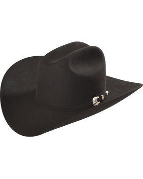 Larry Mahan Black Imperial 1000X Felt Cowboy Hat , Black, hi-res