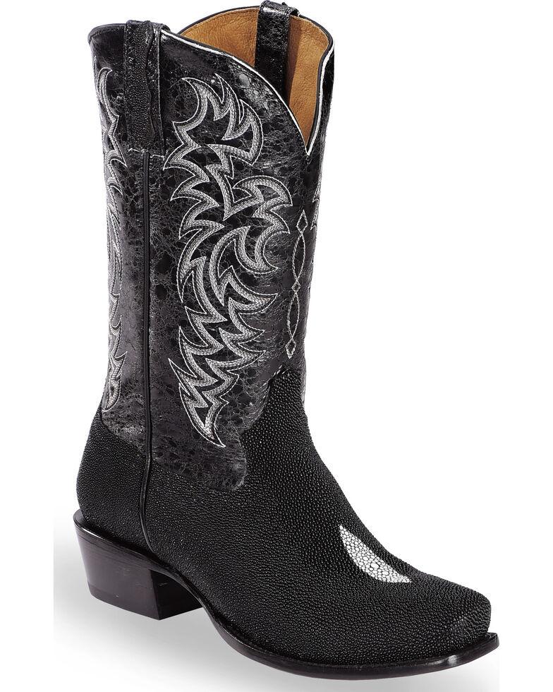 22bc5713767b4 Moonshine Spirit Men's Stingray Exotic Boots - Square Toe